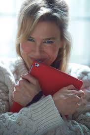 Bridget Jones as a publishing executive with her new iPad